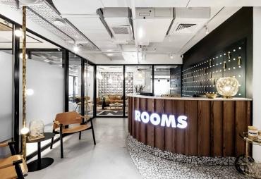 בתמונה: חלל עבודה רומס מלון NYX תל אביב